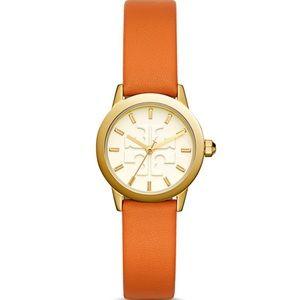 NWT Tory Burch The Gigi Orange Watch, 28mm